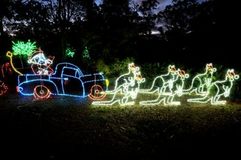 Xmas Lights Around Brisbane Australia Pictures Fun Videos
